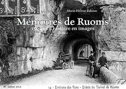 Mémoires de Ruoms (tome 2), couverture