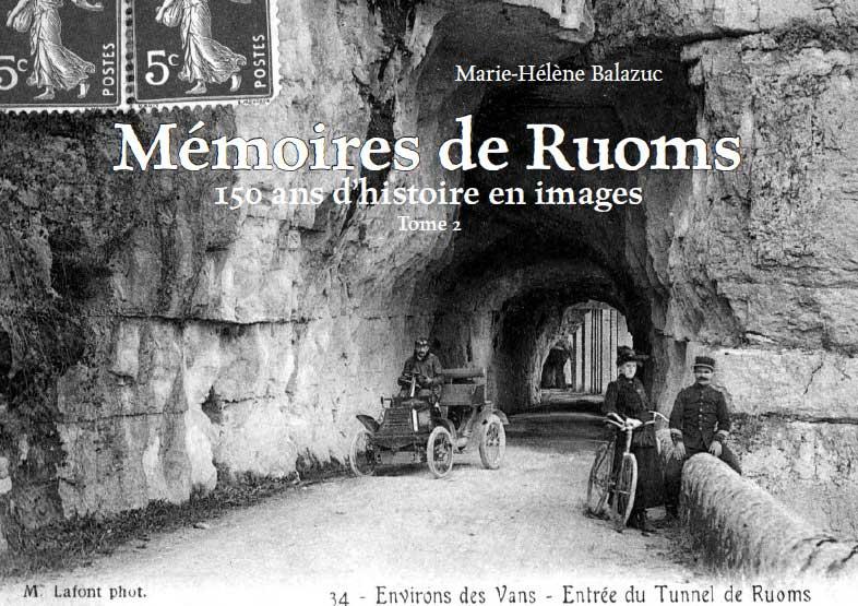 Mémoires de Ruoms tome 2, couverture