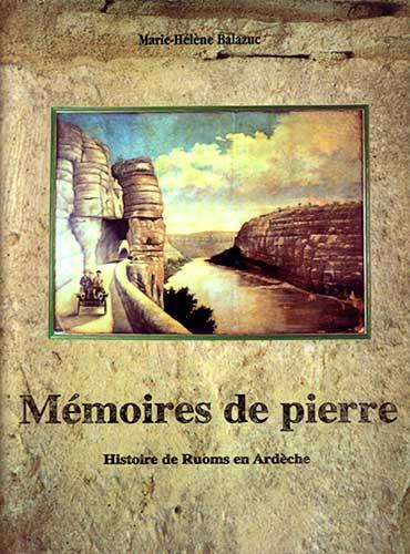 Mémoires de pierre couverture du livre