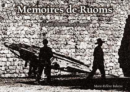 Mémoires de Ruoms, couverture