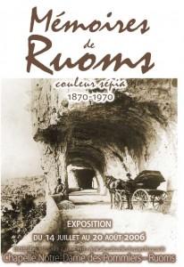 L'affiche de l'exposition de 2006